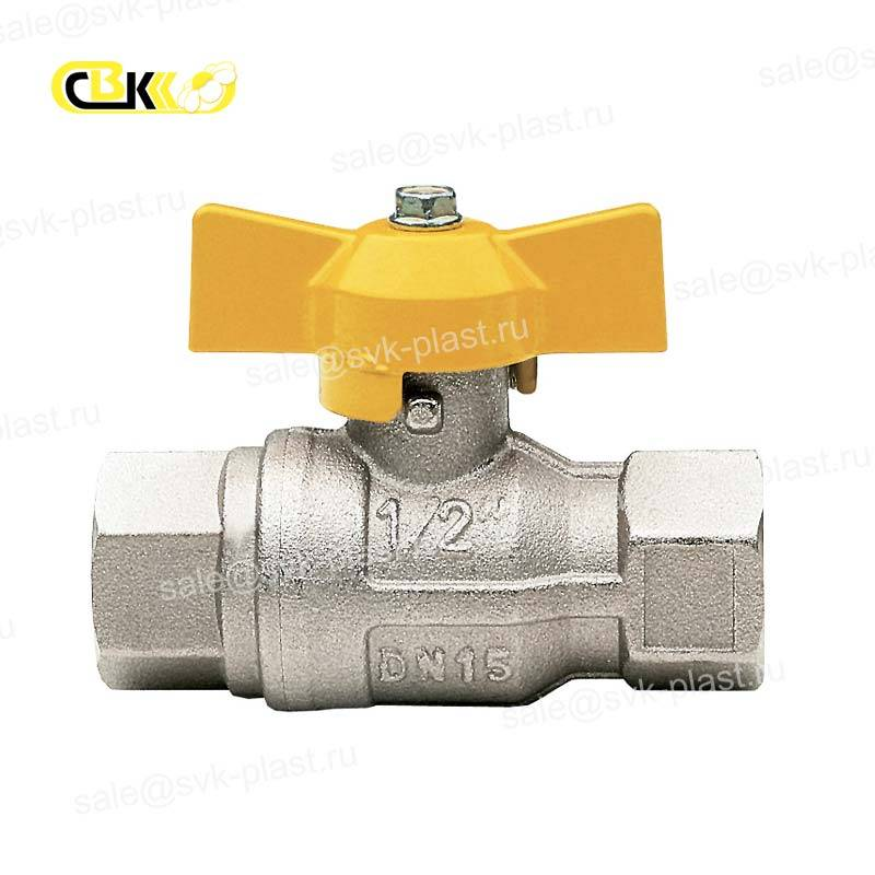ITAP gas ball Valve butterfly handle VN / VN model 072