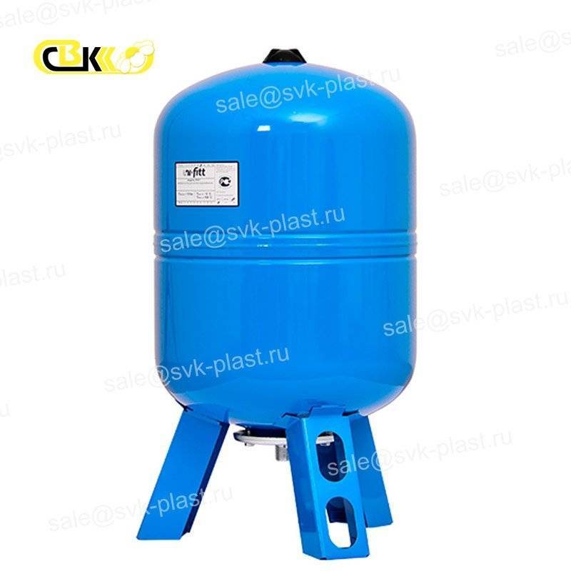 Expansion tank for water vertical UNI-FITT