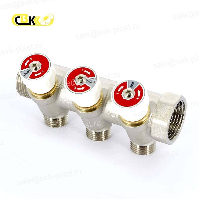 UF HP Collector/BP with valves