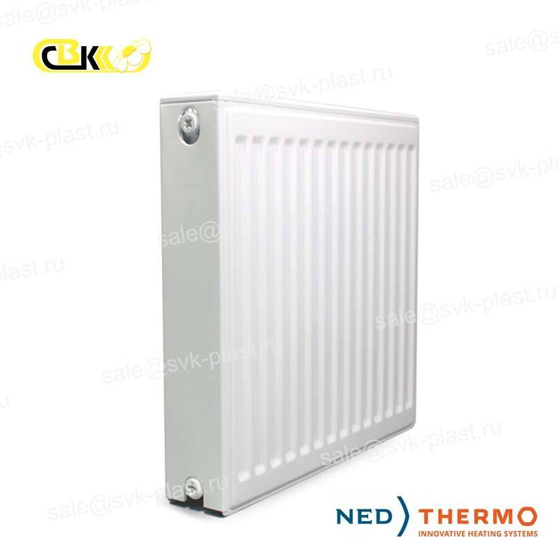 Ned Thermo steel panel radiator, Type 22, Lower connection