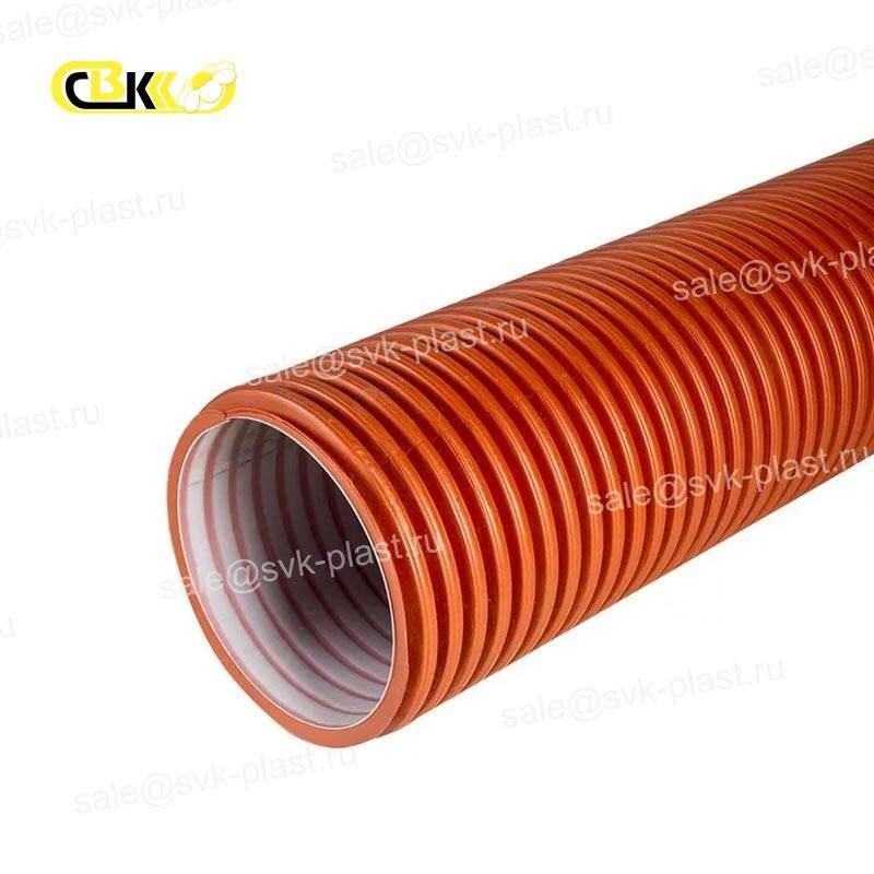 POLITEK 3000 pipes without bell for drainage systems 120 3 holes