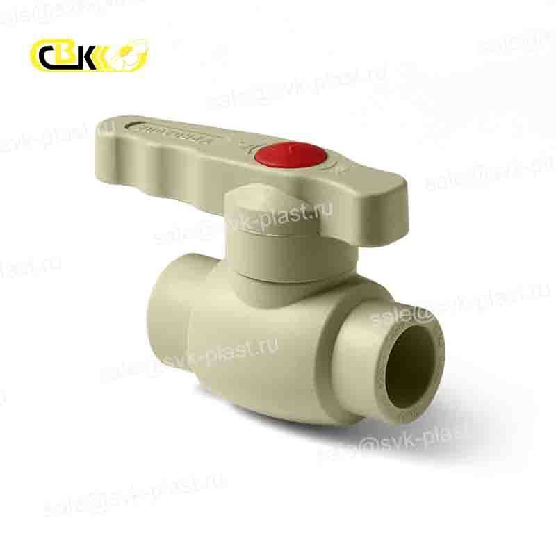 ProAqua Ball valve, PP-R Grise