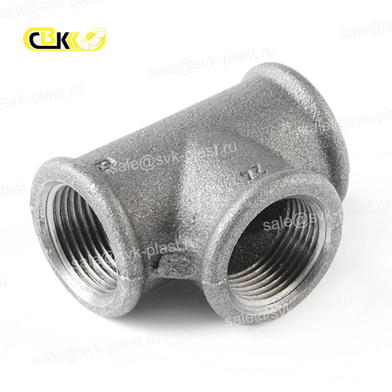 Tee cast iron not galvanized BP