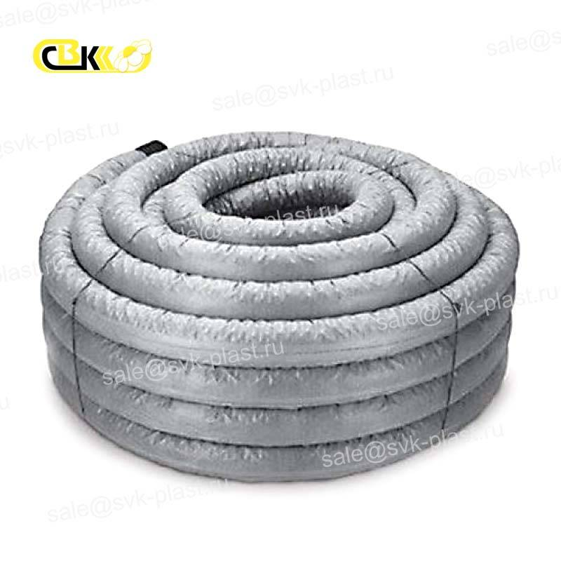 Drainage pipe with filter