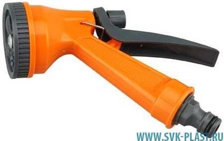 Пистолет разбрызгиватель Пластмассовый 5 режимов