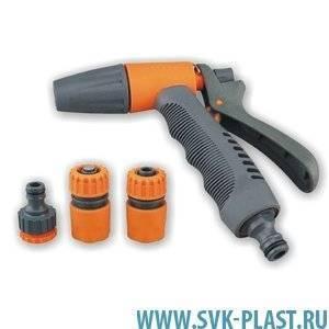 Набор для шланга  с пульверизатором (4 предмета)