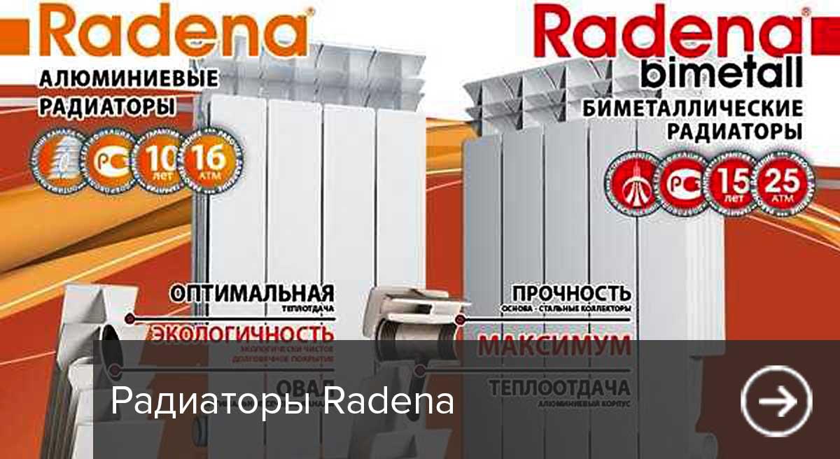 Радиаторы Radena